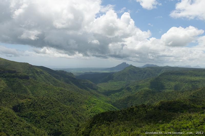 Горы центральной части острова