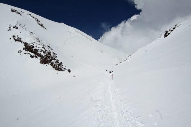 Седловина Эльбруса (5350 м)