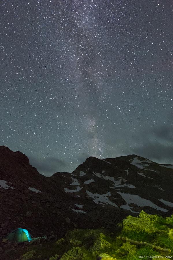 Млечный Путь на Кавказе