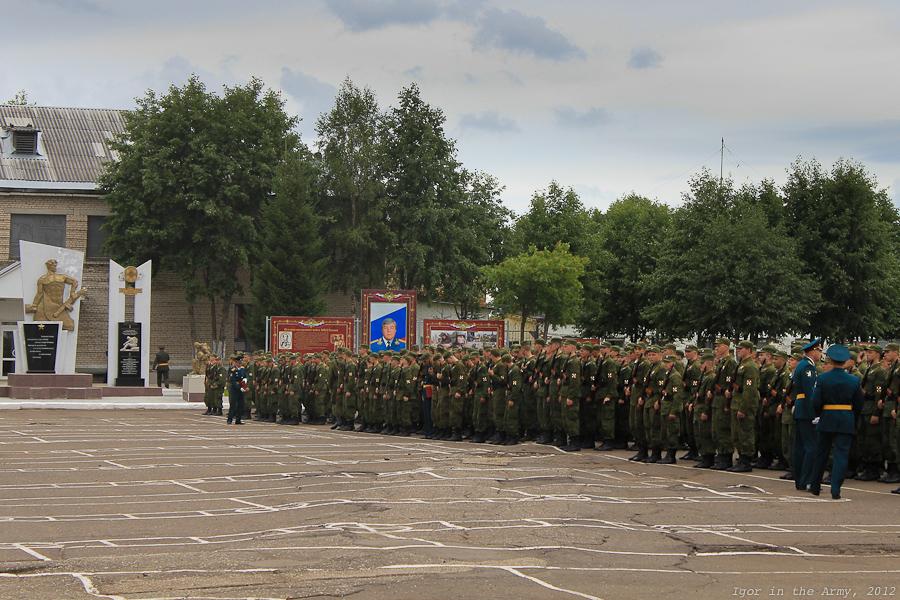 Сыктывкарский учебный инженерно-саперный полк МВД России - присяга 21 Июля 2012