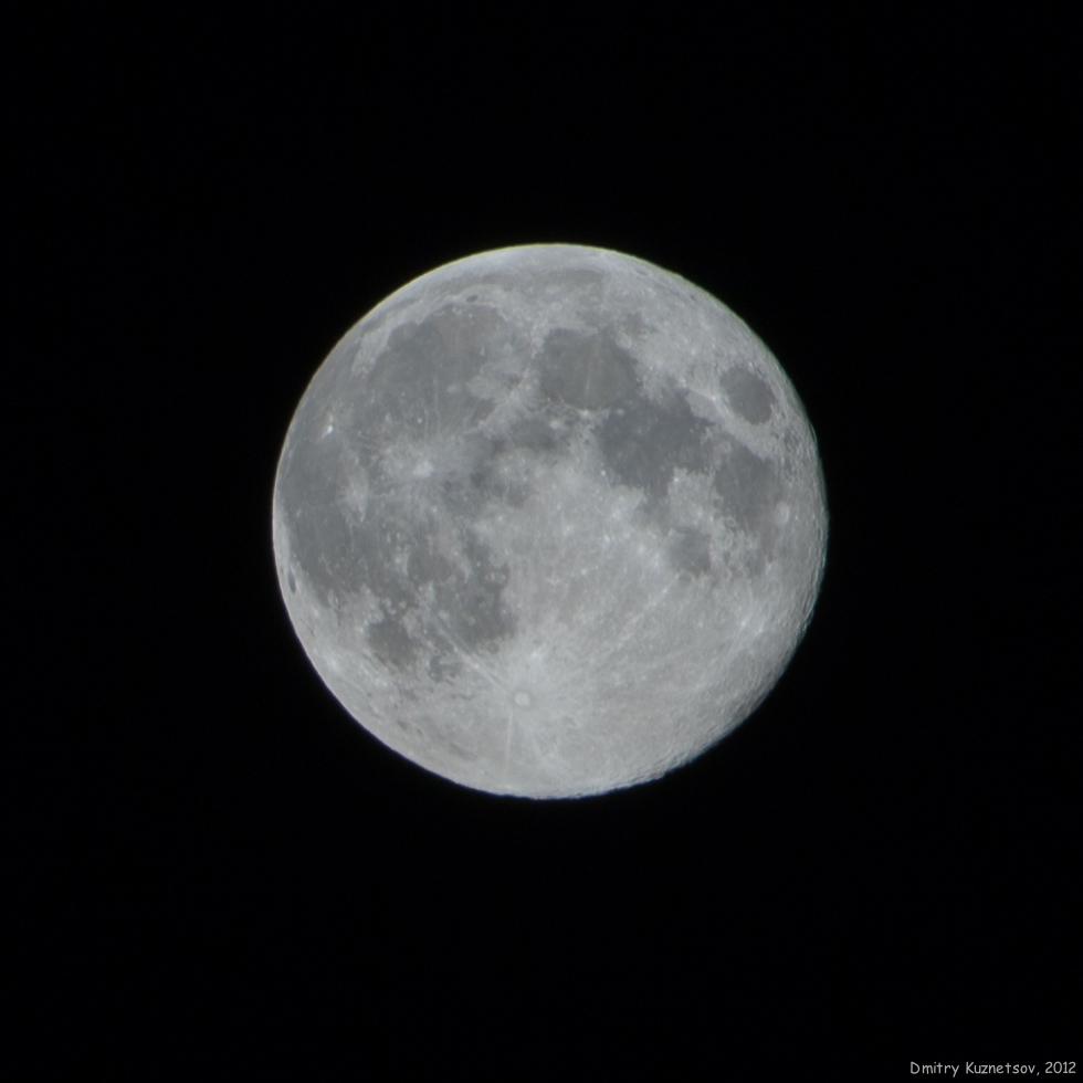 Полнолуние сегодня - 2 Августа  2012, 22:32