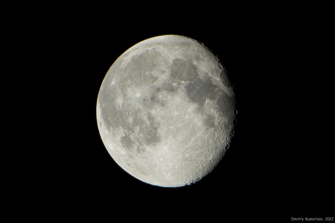 Сегодняшняя 80%-ная луна