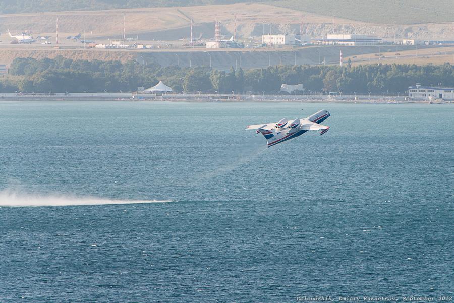 Прыг, и Бе-200 уже летит...