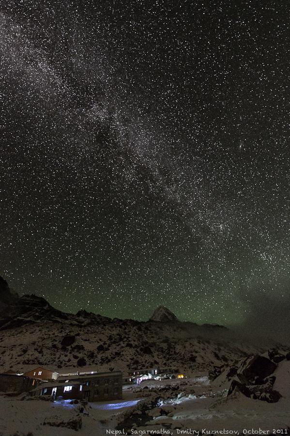 Млечный Путь в Гималаях