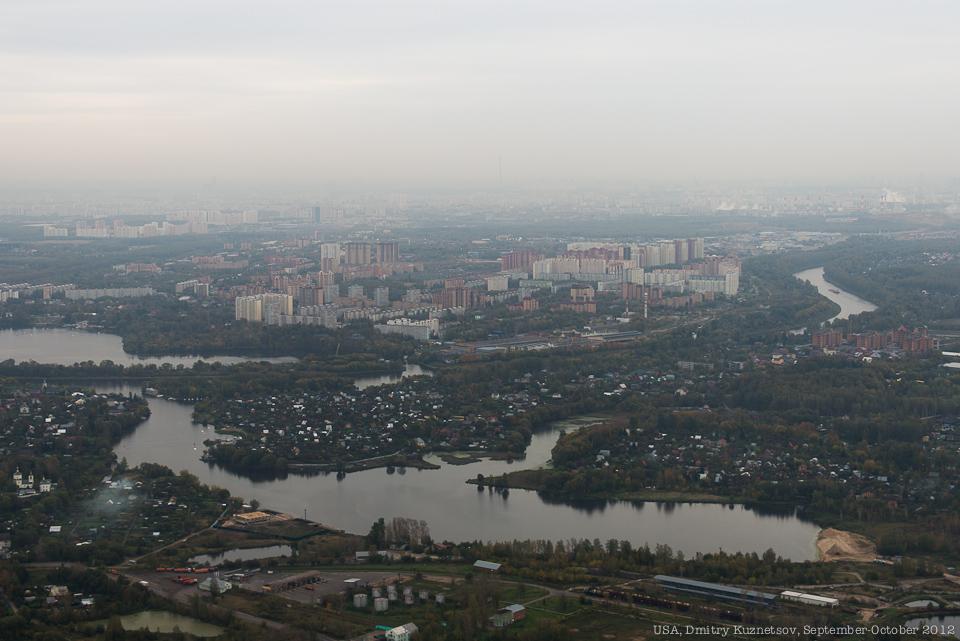 Долгопрудный и канал Москва-Волга