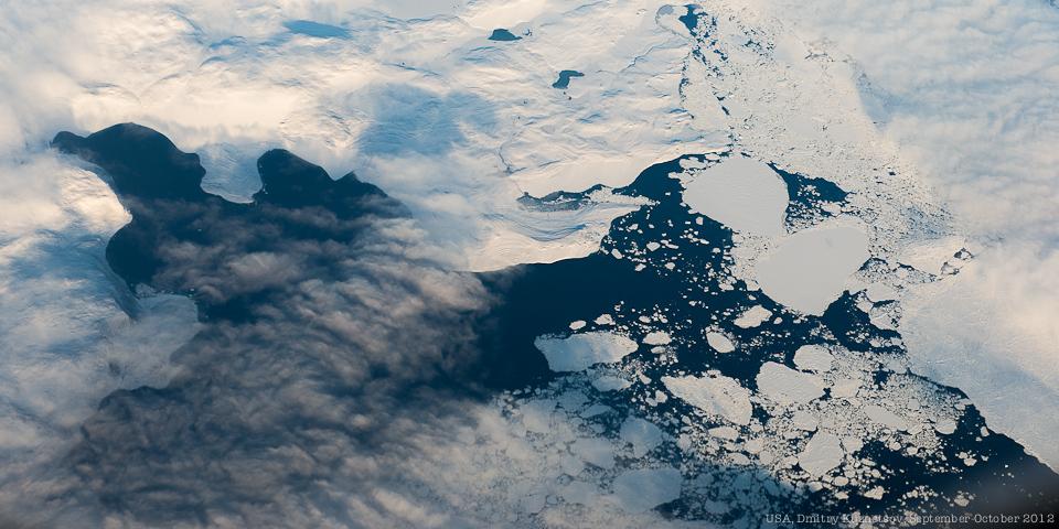 Ледяные кружева Гренландии