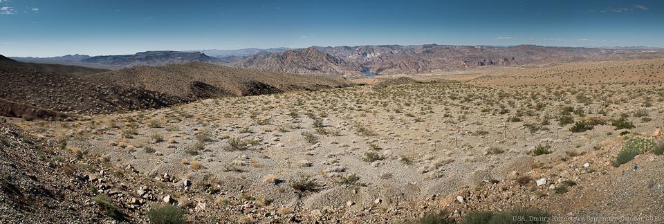 Панорамка с видом на Колорадо