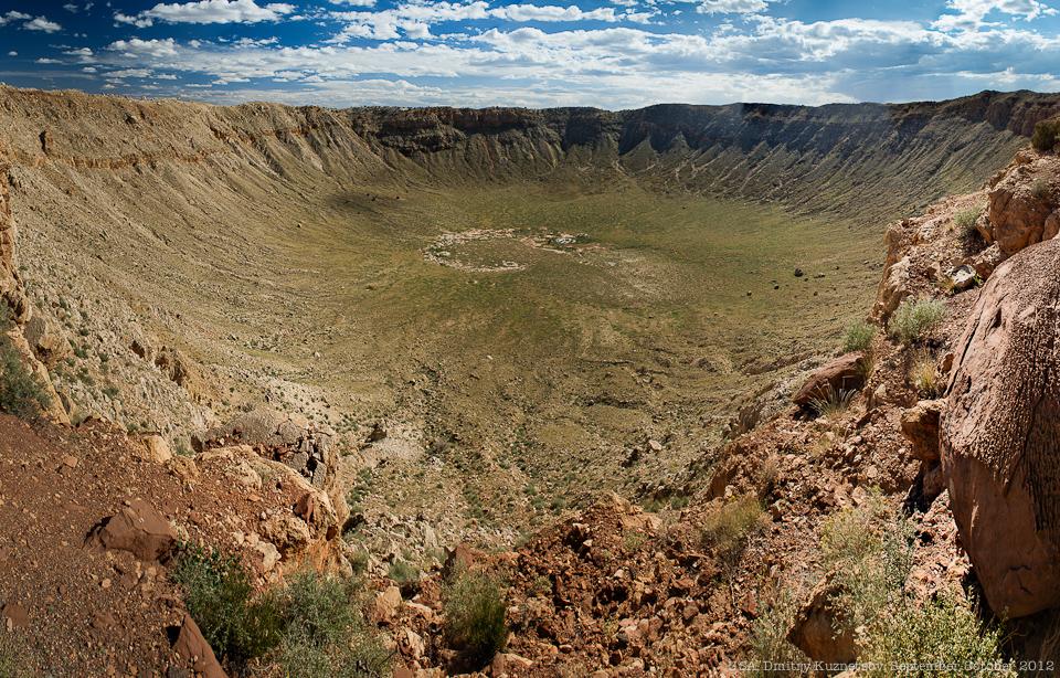 Аризонский кратер во всей красе