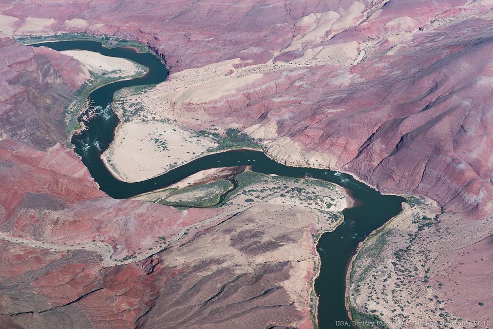 Река Колорадо крупным планом