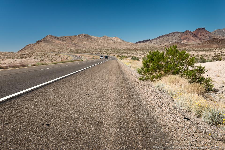 Дорога в Лас-Вегас
