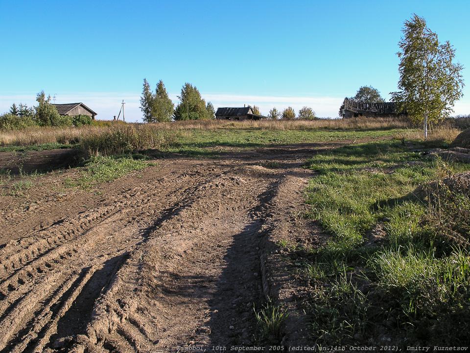 Развалины каких-то сельхоз строений