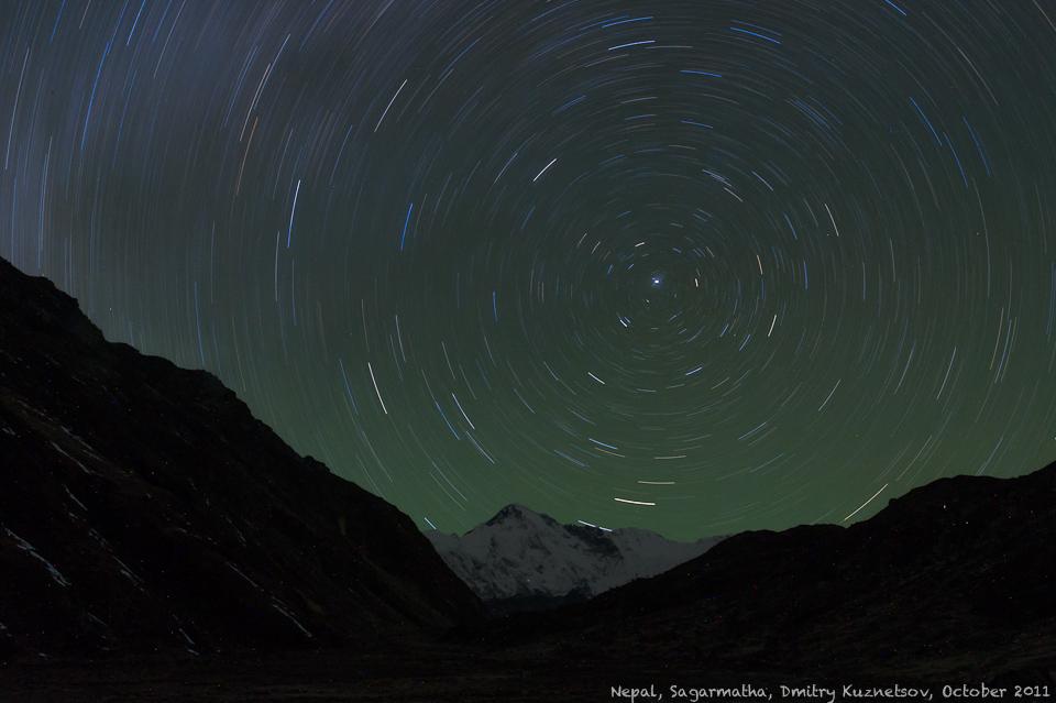 Непал, Гималаи, Чо-Ойю и Полярная Звезда