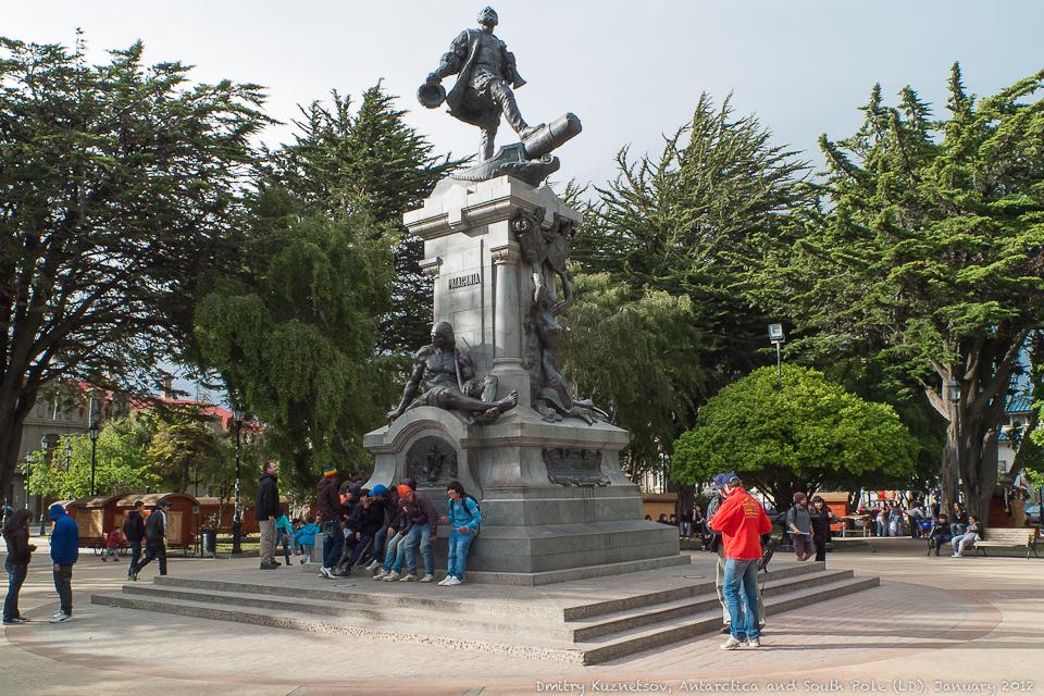 Памятник Фернан Магеллану