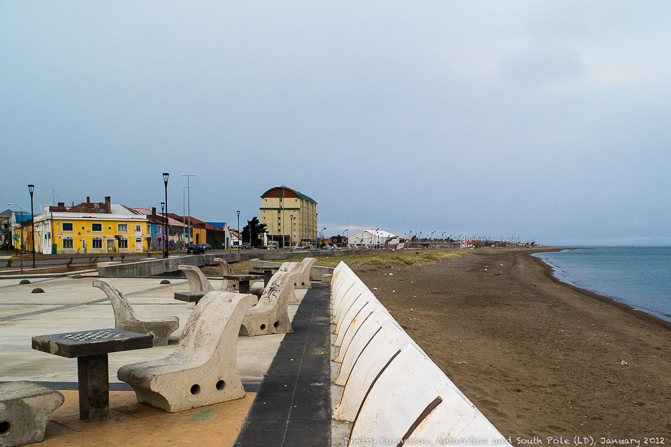 Набережная Пунта-Аренас