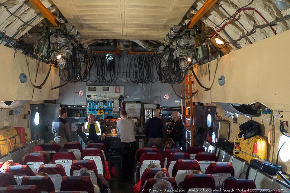 Салон Ил-76ТД