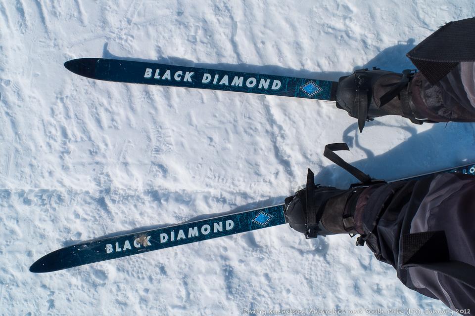 Наши лыжи и крепеления