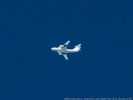 Ил-76ТД улетает на Большую Землю