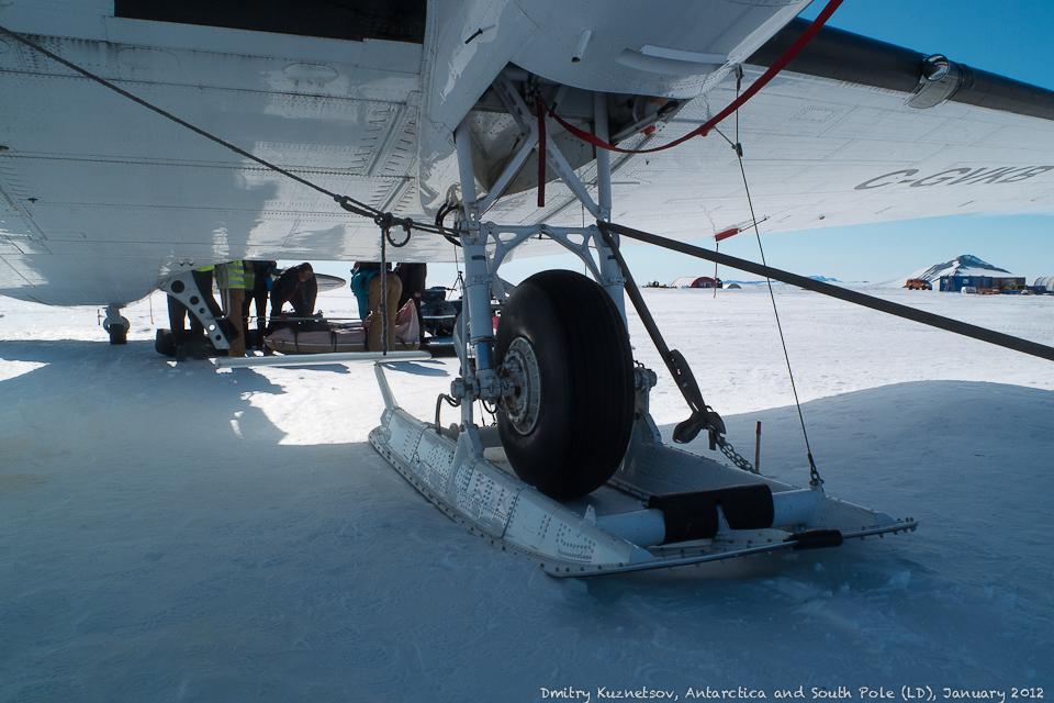 Лыжи и колеса