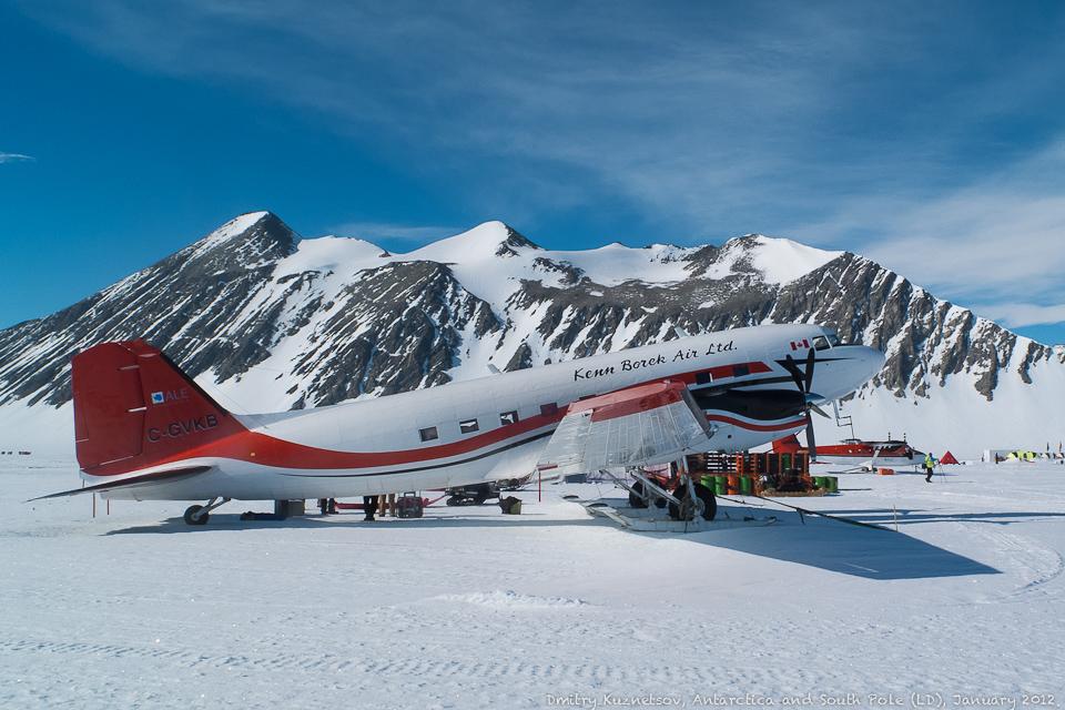 Douglas DC-3 и горы