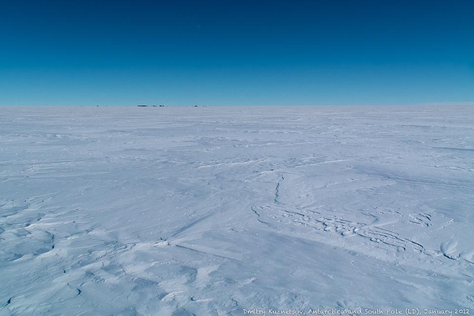 Антарктида, станция, луна