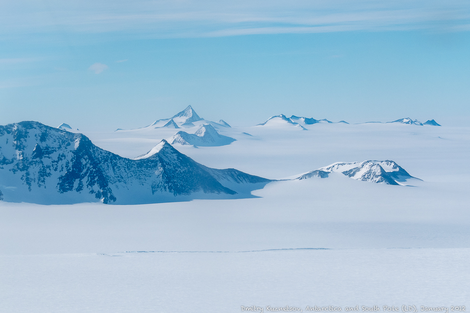 Горы Антарктики