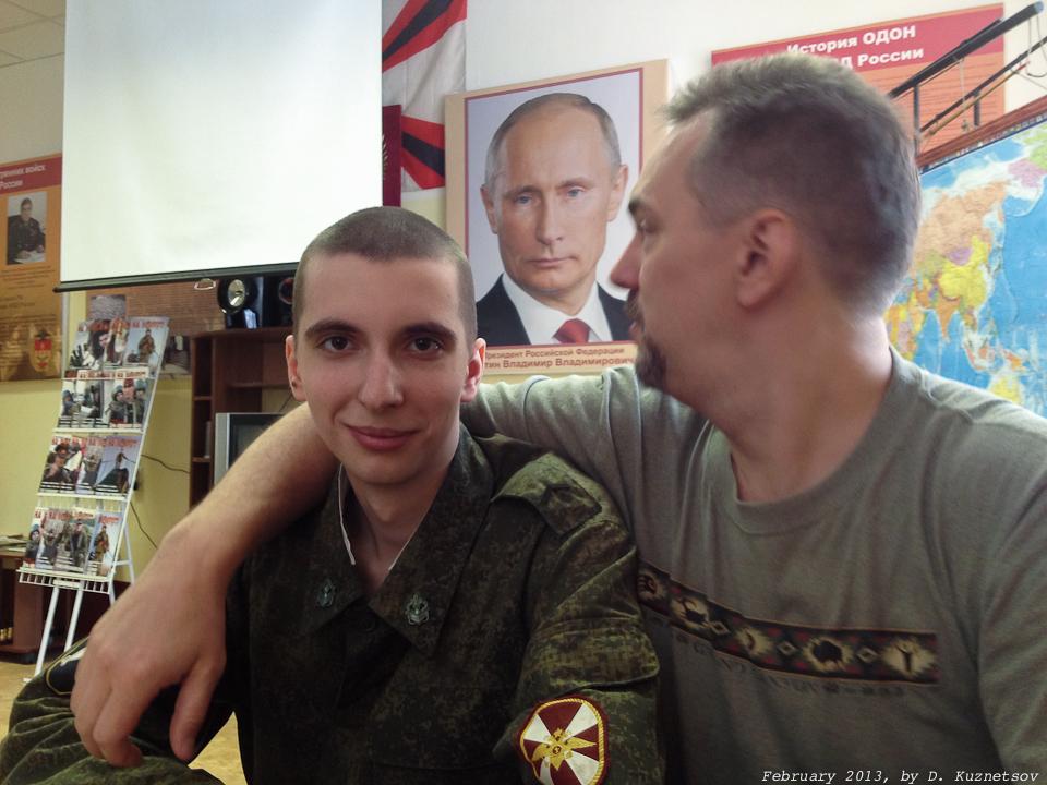 ''Владимир Владимирович, вы к нам?...''