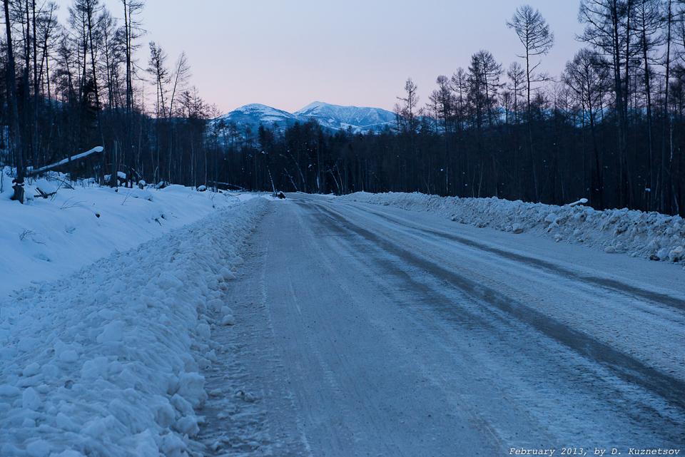 Рассвет в Хабаровском крае
