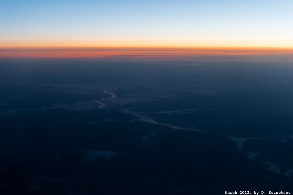 Около часа после взлета из Хабаровска