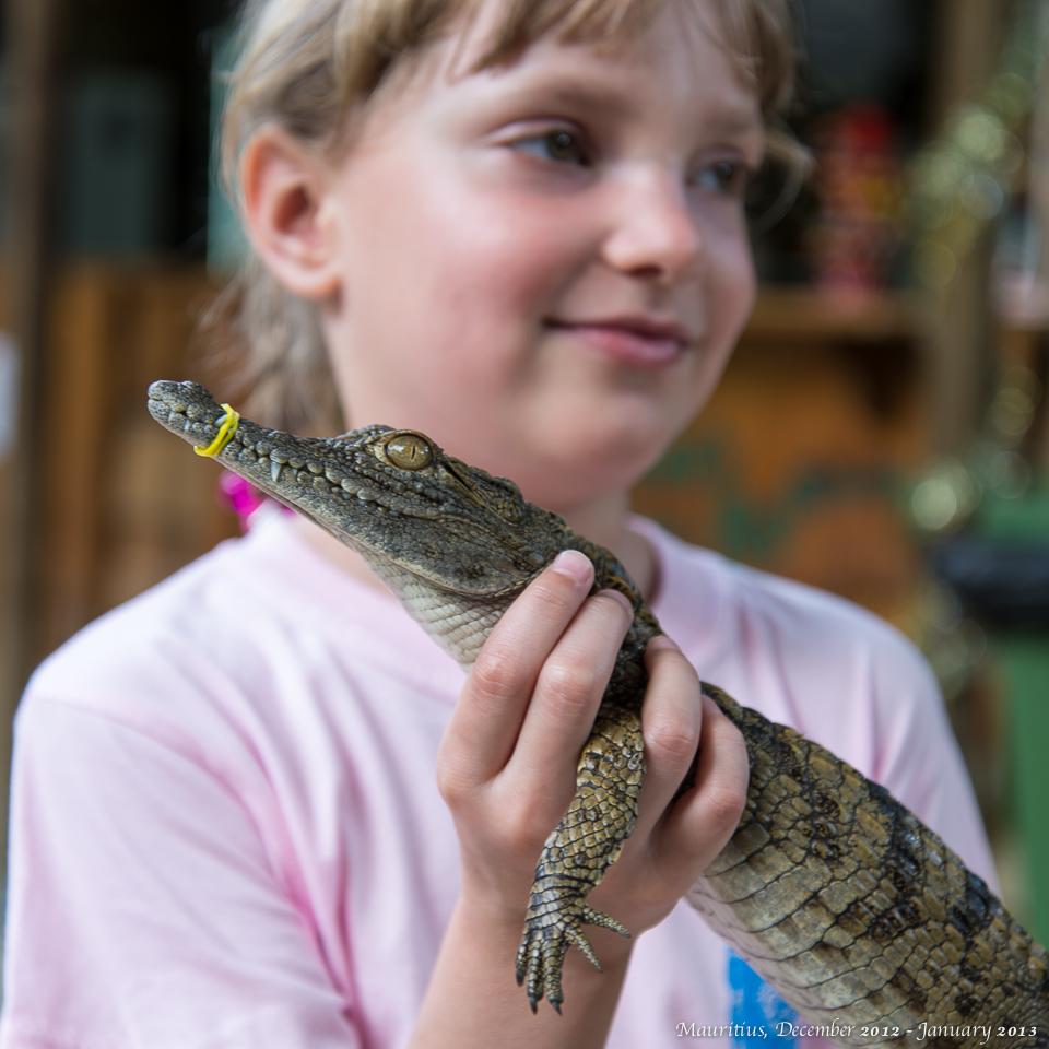 Женя и крокодиленочек