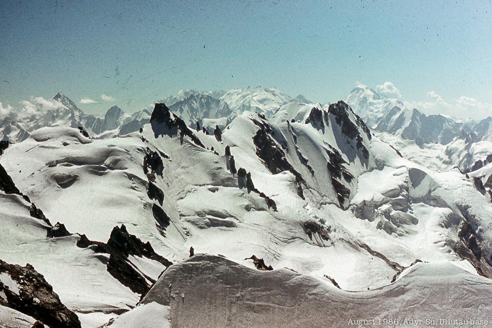 Горы Приэлбрусья