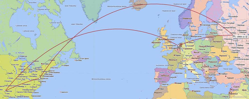 20,000 км над землей