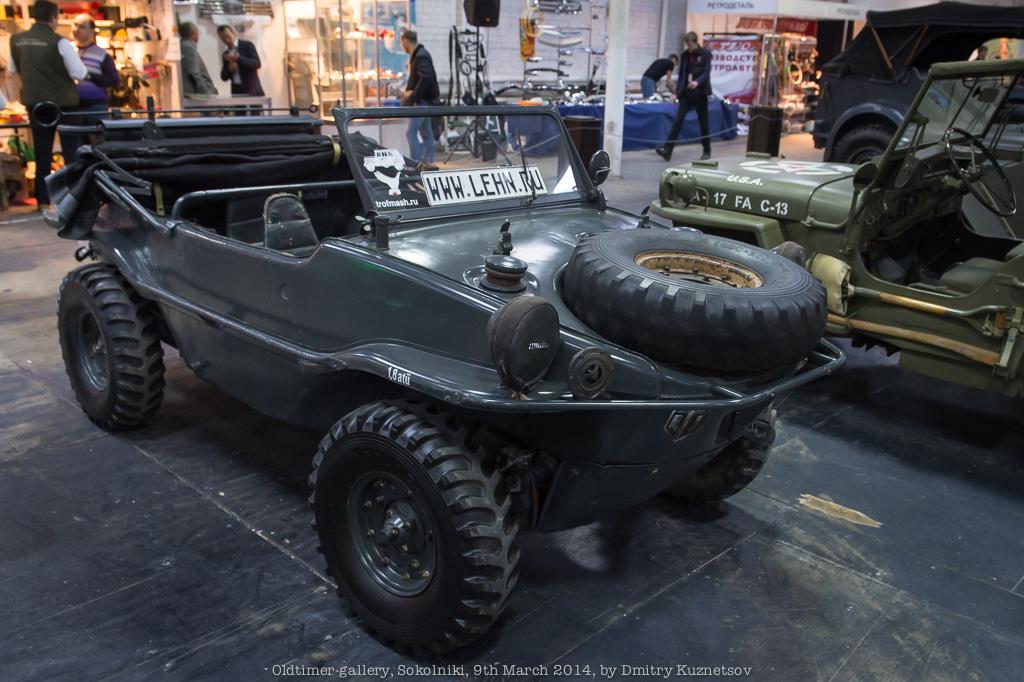 Машинка для плавания - kDF Typ 166 Swimmwagen