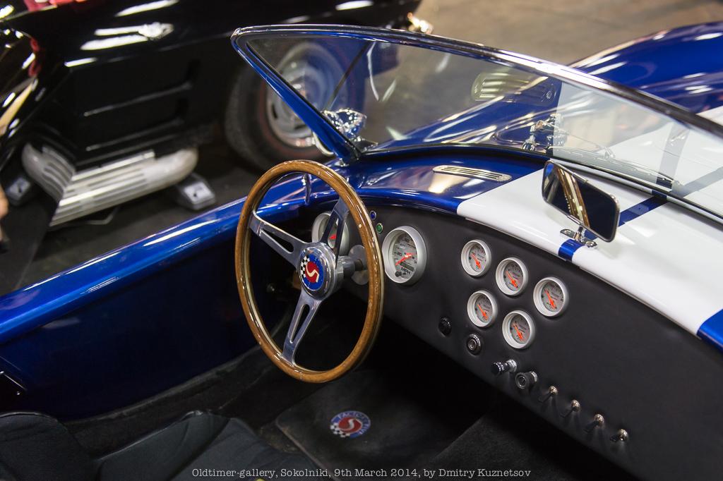 AC Cobra MK4 Roadster, 1967 (реплика, сборка 2012)