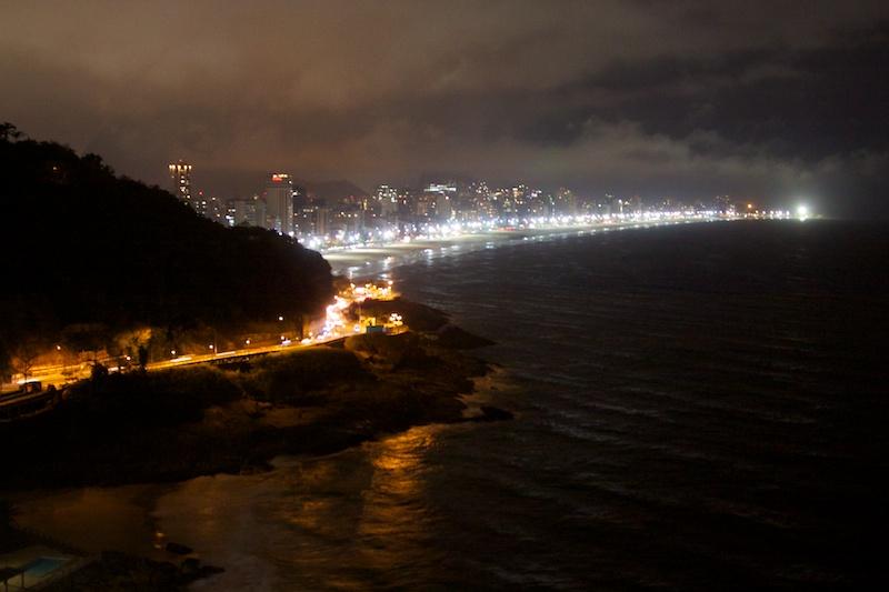 Вид на Рио из окна отеля