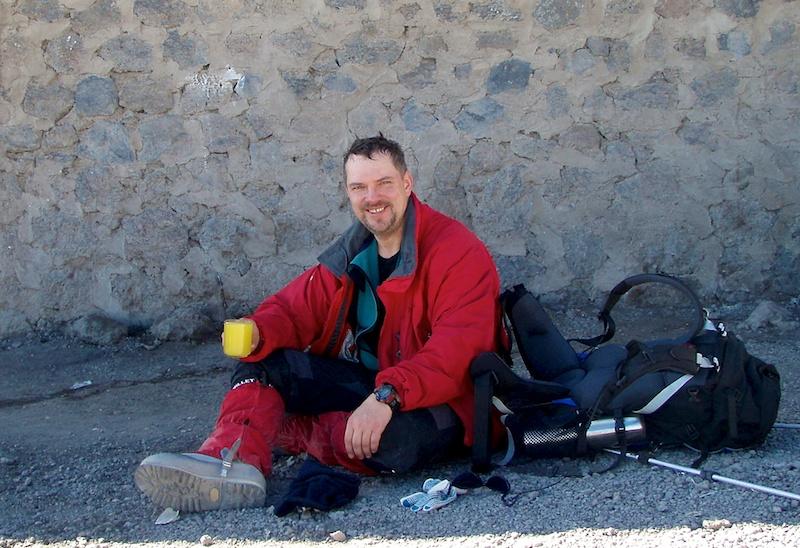После спуска с вершины Килиманджаро