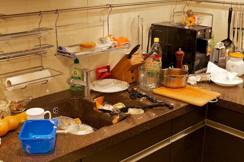 Разруха на кухне