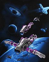 SPACE DIVE (Светится в ультрафиолете)