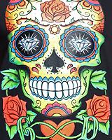Sugar Skull (Светится в темноте и ультрафиолете)