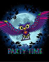 IT`S PARTY TIME (Светится в ультрафиолете)