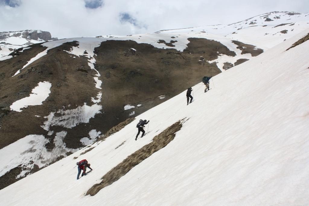В горах Кавказа (Архыз, пик Динника)
