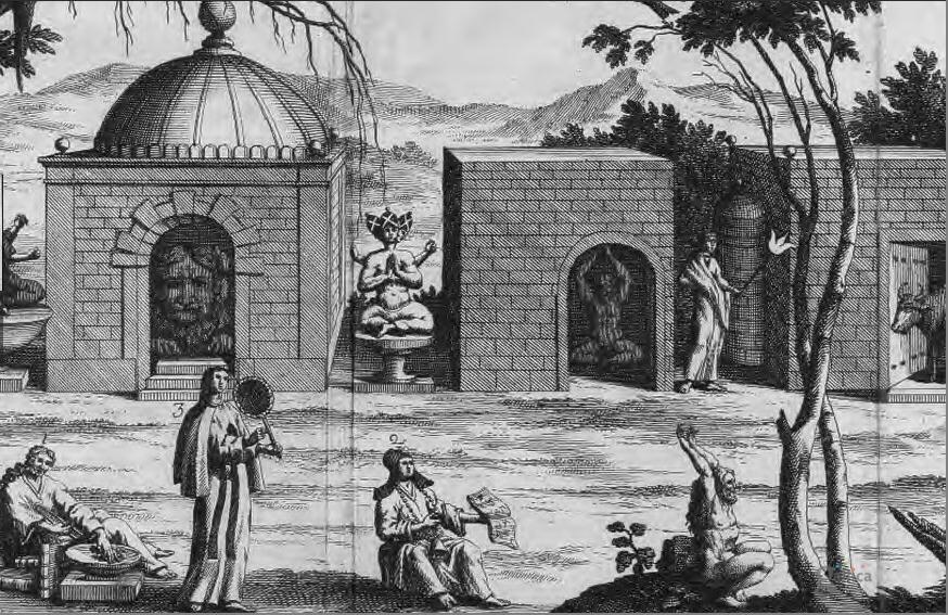 temples du Tonquin