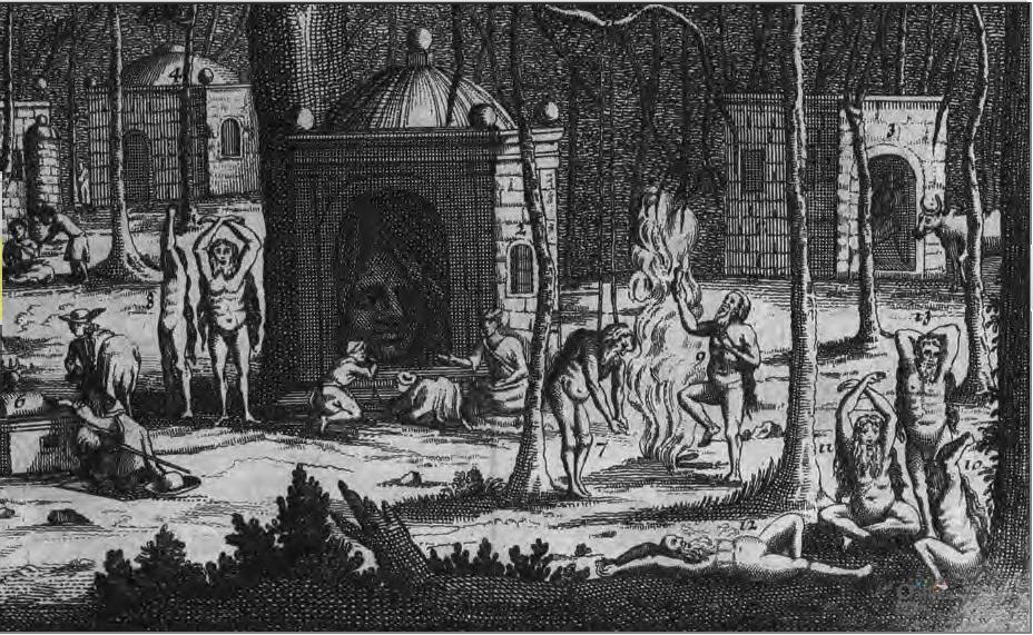 Индийские факиры, 17 век. bnf