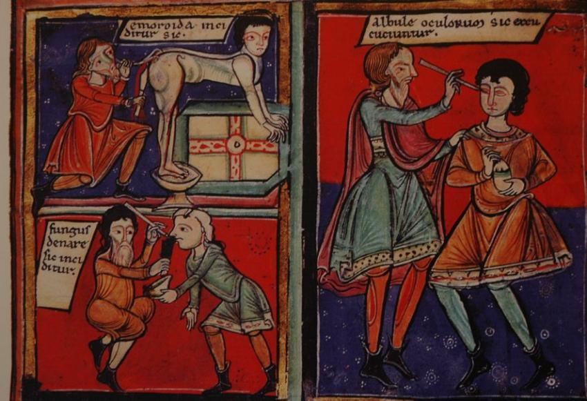 Bonnemazon. Les soins du corps au Moyen Âge