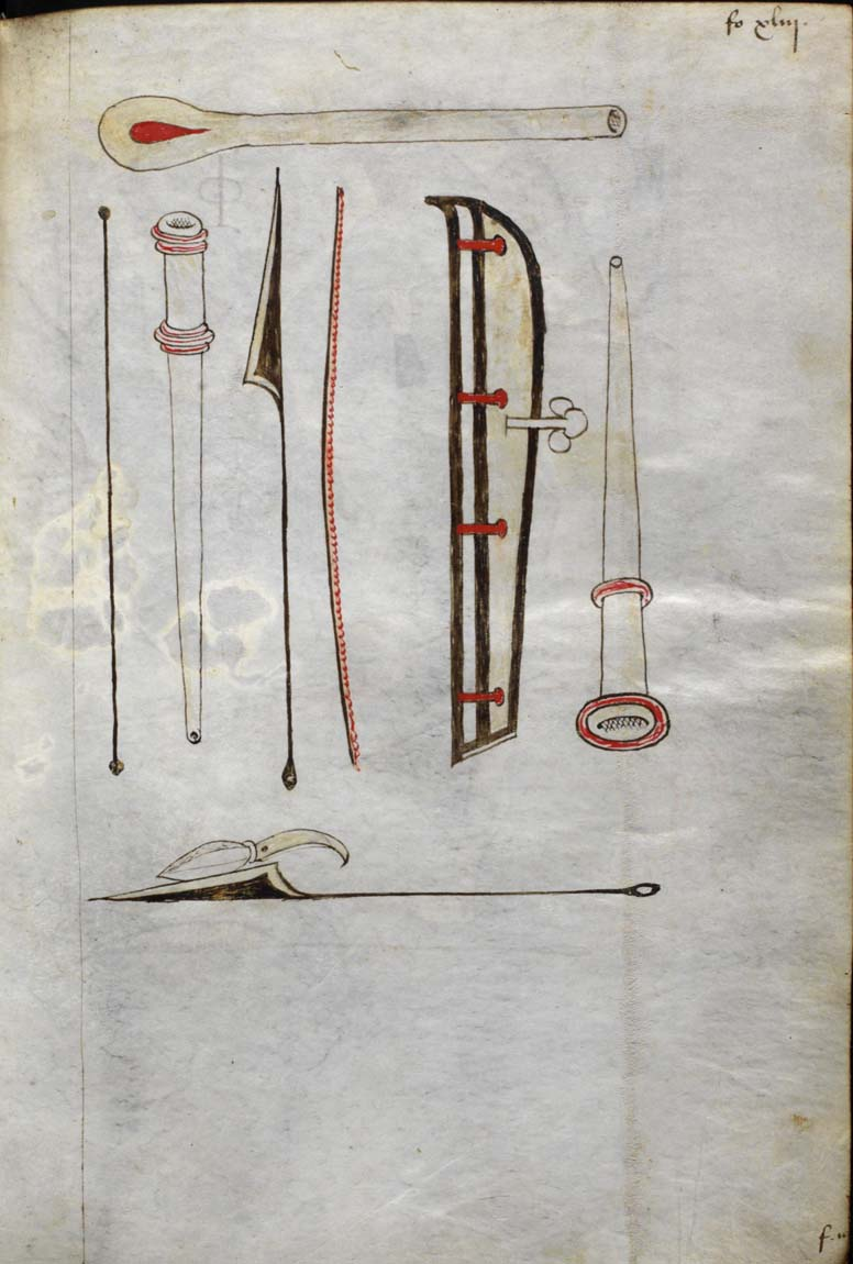 15th century surgical instruments