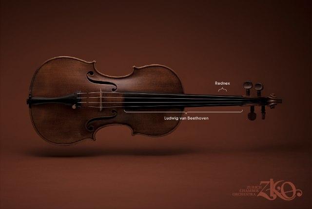 Zurich Chamber Orchestra Instruments. Violin