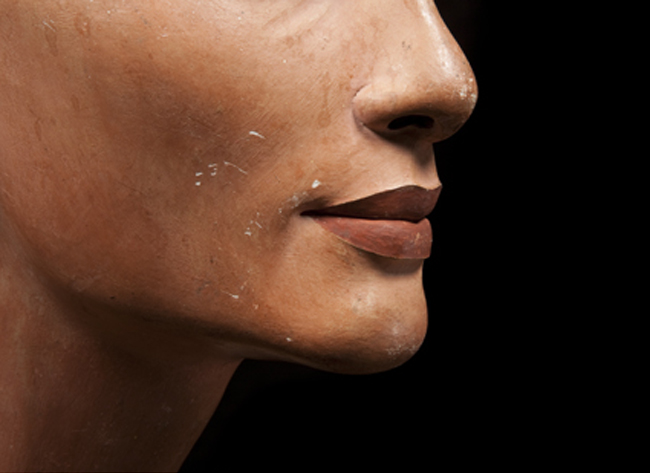 Bust of Nefertiti (detail) © Staatliche Museen zu Berlin, photo: Sandra Steiß