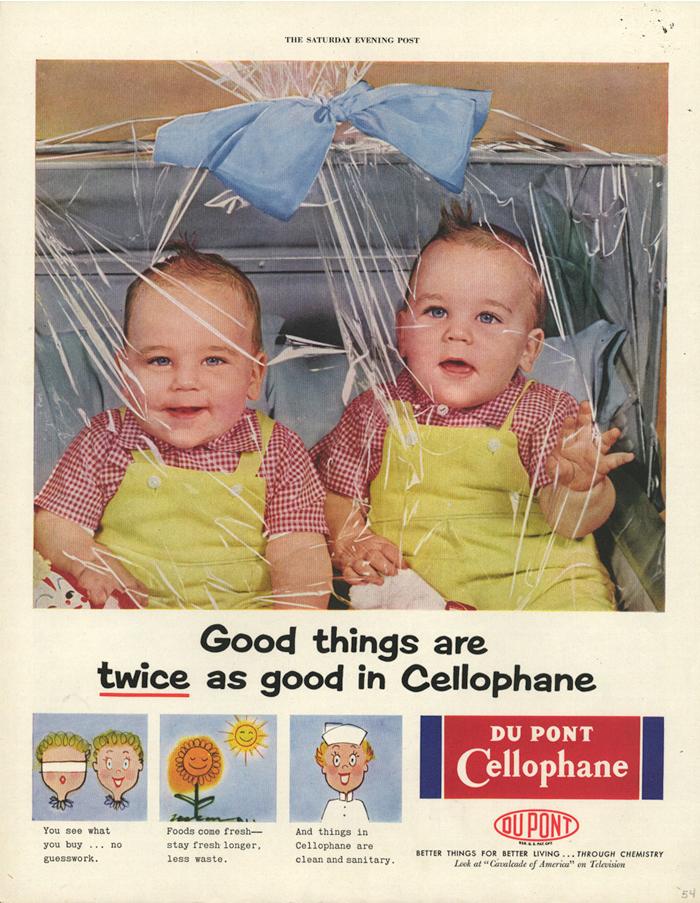Cellophane Ads Du Pont