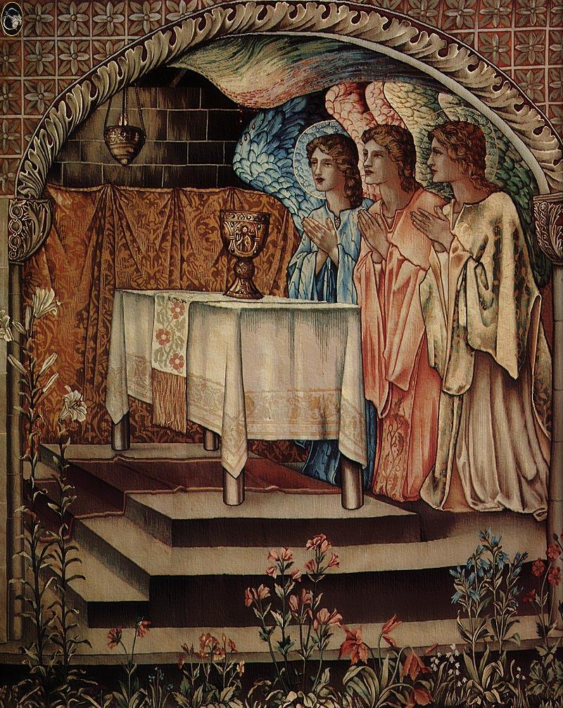 Edward Burne-Jones Achievment Galahad the Sang Graal