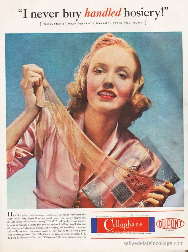 DuPont Cellophane 1938