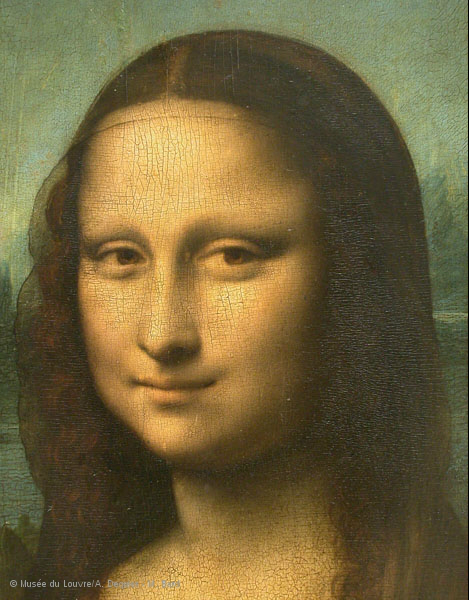 Mona Lisa – Portrait of Lisa Gherardini, wife of Francesco del Giocondo. louvre.fr